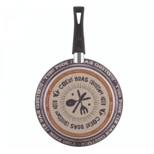 Frigideira Francesa Rochedo Viva Antiaderente Roxa 26cm