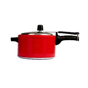 Panela Pressão Mr. Cook 3.0l Alum Vermelha