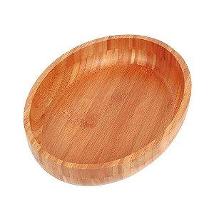 Gamela Oval Mor Bamboo 33cm x 23cm