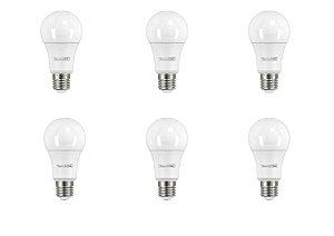 Kit Caixa C/ 6 und Lâmpada LED Tramontina Bulbo Base E27 806 lm 9 W Bivolt 6500 K Luz Branca