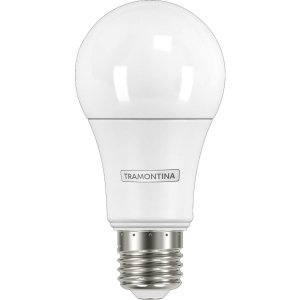 Kit Caixa C/ 15 und Lâmpada LED Tramontina Bulbo Base E27 806 lm 9 W Bivolt 6500 K Luz Branca