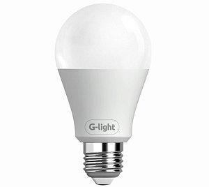 Kit 6 lâmpadas led autovolt A60 12W 6500K G-Light