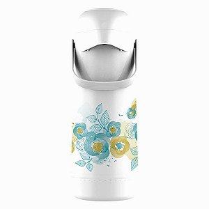 Garrafa térmica Termolar Floral 1L