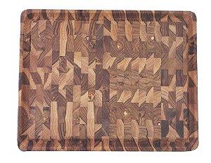 Tábua Tramontina Churrasco Madeira Invertida 48 x 36 cm