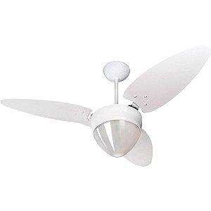 Ventilador Ventisol Teto Aires Branco ref-383 220V Branco