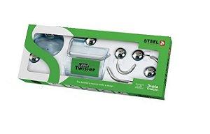 Acessórios banheiro Steel Design alumínio Twister 5pçs