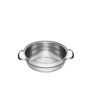 Cozi-vapore Tramontina Allegra em Aço Inox 20 cm 2,2 L