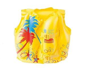Colete inflável Belfix tropical infantil até 30 Kg 43 x 30 cm