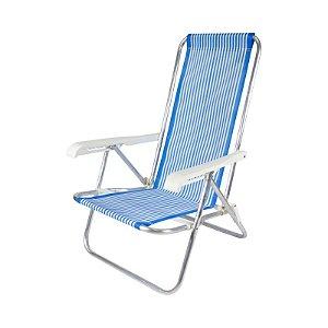 Cadeira reclinável 4 posições Belfix até 100 Kg