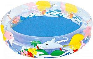 Piscina inflável bebê / infantil Belfix Oceano