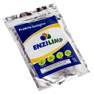 Enzilimp 150gr biodegradador limpa fossa e caixa de gordura