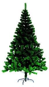 árvore de natal verde Rio de Ouro 2.10m