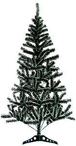 Árvore natal verde nevada 60cm Rio de Ouro