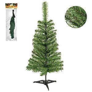 Árvore natal Zein verde 60cm e 50 galhos