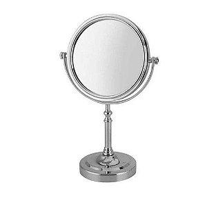 Espelho mesa Uny Gift C/ grau giratório 28x16.5cm
