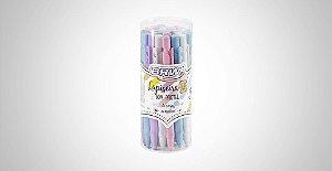 Lapiseira plástica 2.0mm tom pastel BRW