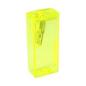 Apontador c/ depósito retangular Faber Castell