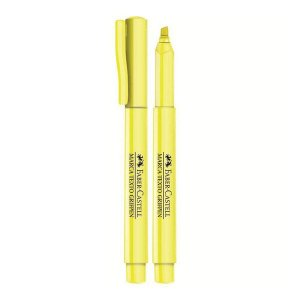 Marca Texto Amarelo Fluorescente Faber-Castell