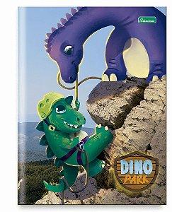 Caderno brochura Dino Park 1/4 96 fls Cadersil