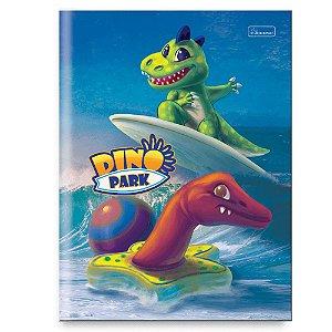 Caderno brochura universitário Dino Park 96 fls Cadersil