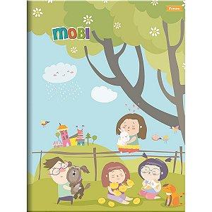 Caderno brochura universitário Foroni Mobi 48fls 200mmx275mm