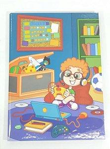 Caderno brochura universitário Credeal Lala menino