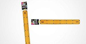Régua Brw 30cm Flexível Color Sortidas