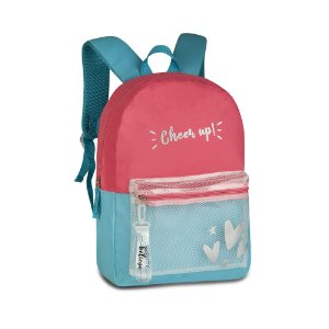 Mochila juvenil Clio feminina Cheer up MF3174