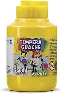 Tinta guache Acrilex 250Ml amarela
