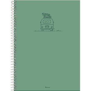 Caderno universitário Versatile 96fls Foroni  c/ adesivos
