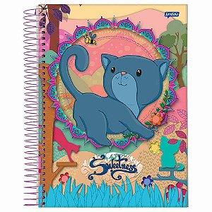 Caderno universitário Sweetness Jandaia 200fls 10 matérias