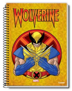 Caderno Universitário X-Men Credeal 80fls