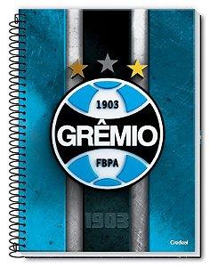 Caderno universitário Grêmio Credeal 200ml 10mts *pôster