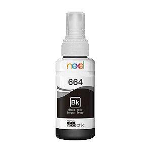 Tinta Corante Refil 100ml Impressora Jato de Tinta Black (Preto) Compatível Epson