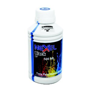 Tinta UV Universal  500ml Black Nexel