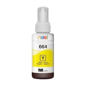 Tinta Corante Refil 100ml Impressora Jato de Tinta Yellow (Amarelo) Compatível Epson