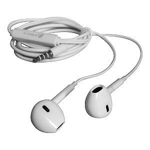 Fone de Ouvido Estéreo XC-F-04 X-Cell Branco