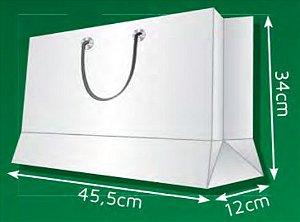 Sacola de Papel CM - (LxAxP) 45,5 x 34 x 12 cm
