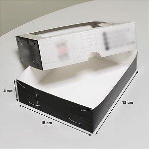 Caixa Para Sushi Delivery G - (LxAxP) 18 x 4 x 15 cm