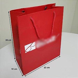 Sacola de Papel - (LxAxP) 22 x 28 x 10 cm