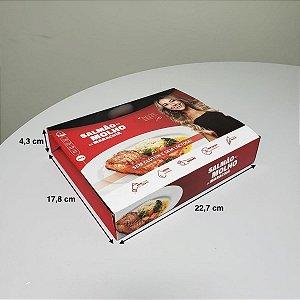 Caixa com Fundo Automático - (LxAxP) 22,7 x 4,3 x 17,8 cm
