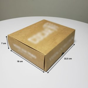 Caixa sem Colagem - (LxAxP) 22,5 x 7 x 18 cm