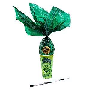 Copo Infantil  Verde com Ovo de Páscoa 200g Ao Leite