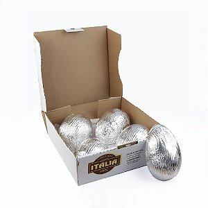 Caixa com 8 Cascas para ovos de 450 g Ao Leite - Peso aprox. 1.280 g
