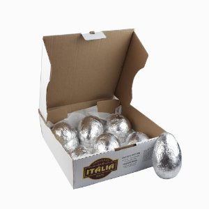 Caixa com 12 Cascas para ovos de 250 g Ao Leite - Peso aprox. 970 g