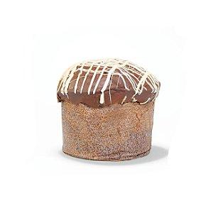 Mini Panetone Gotas de Chocolate com Cobertura de Chocolate