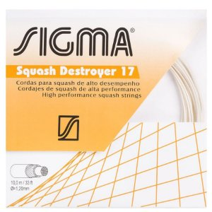 CORDA SIGMA SQUASH DESTROYER 17L 1.20MM SET 10 METROS