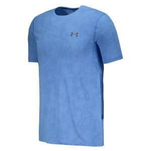 CAMISETA UNDER ARMOUR THREADBORNE ELITE FITTED - AZUL