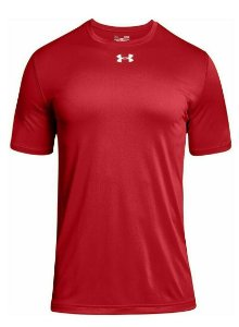 CAMISETA UNDER ARMOUR LOCKER SLEEVE - VERMELHA