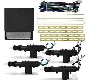 Travas Elétrica Universal 4 Portas Isoflex Completo